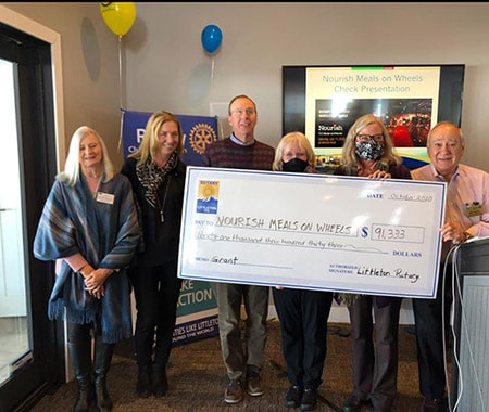 Thank you Rotary Club of Littleton